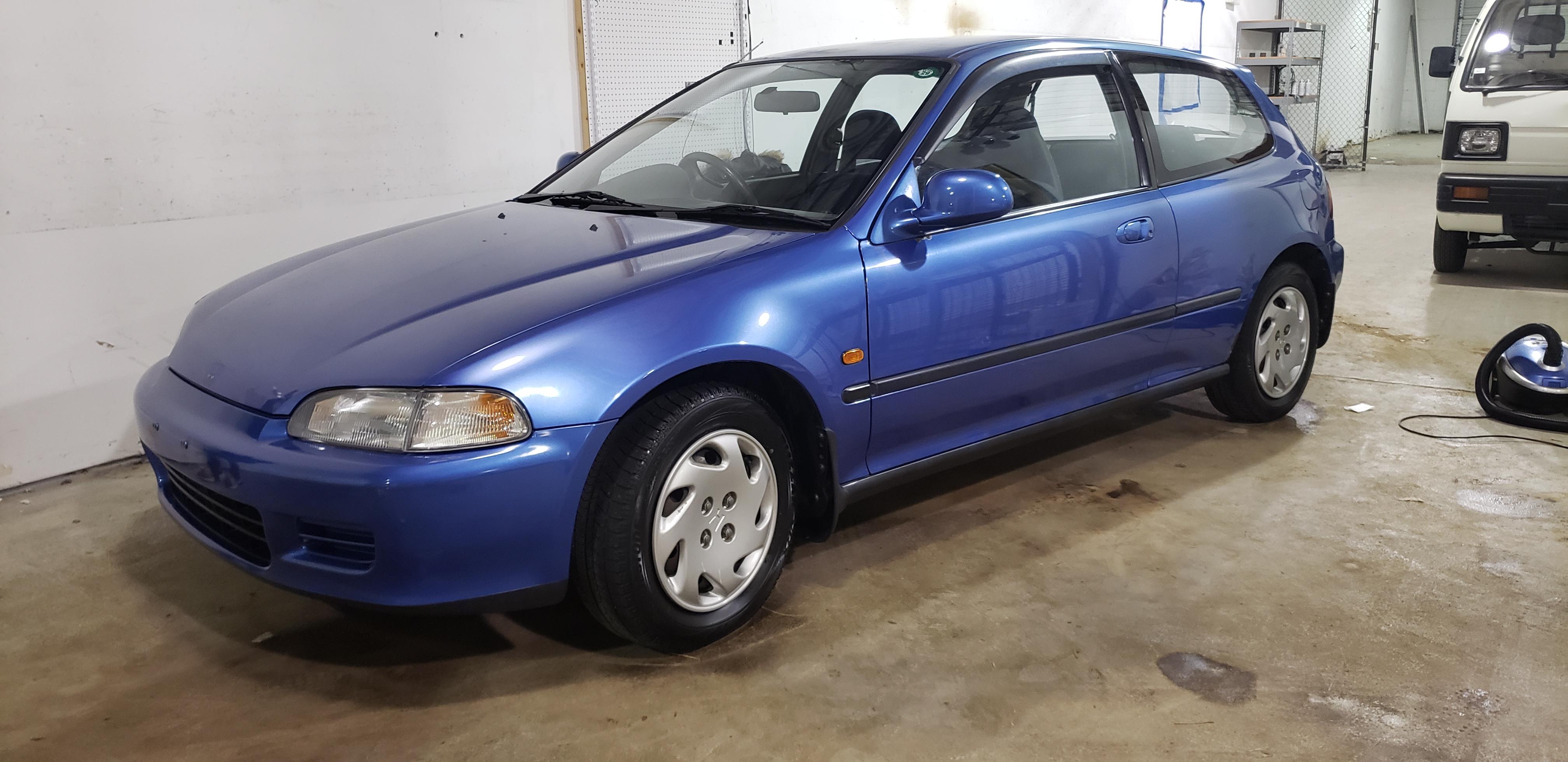 1993 Honda Civic EG4 Hatch - JUST ARRIVED