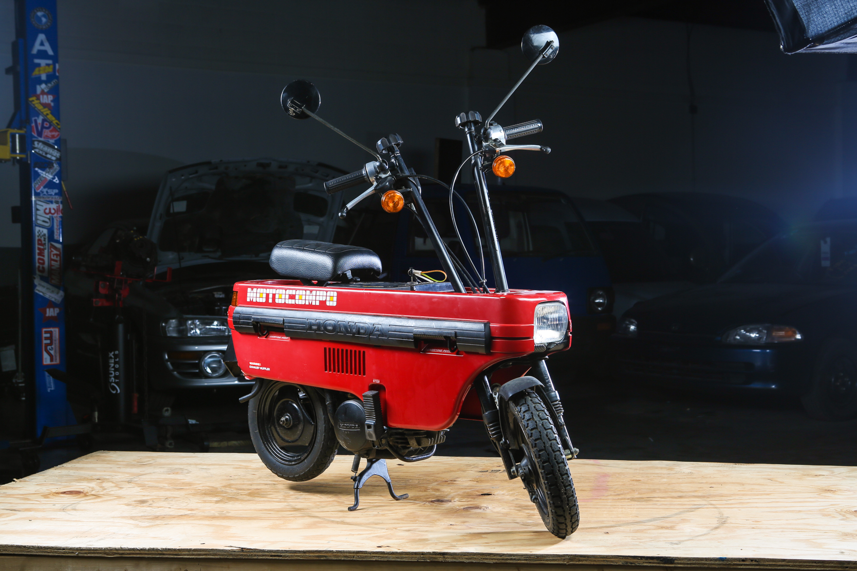 1982 Honda Motocompo Red - $4,950