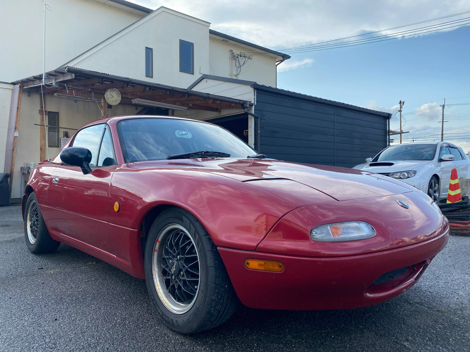 1992 Mazda Eunos Roadster TURBO - $13,950 HARD TOP NOT INCLUDED