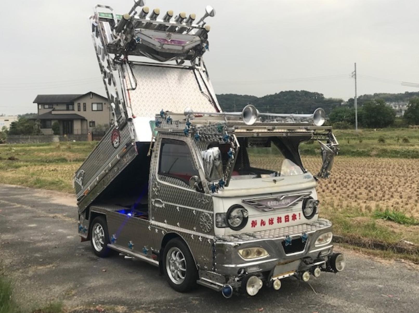 1993 Dekotora Suzuki Carry - JUST ARRIVED!!!