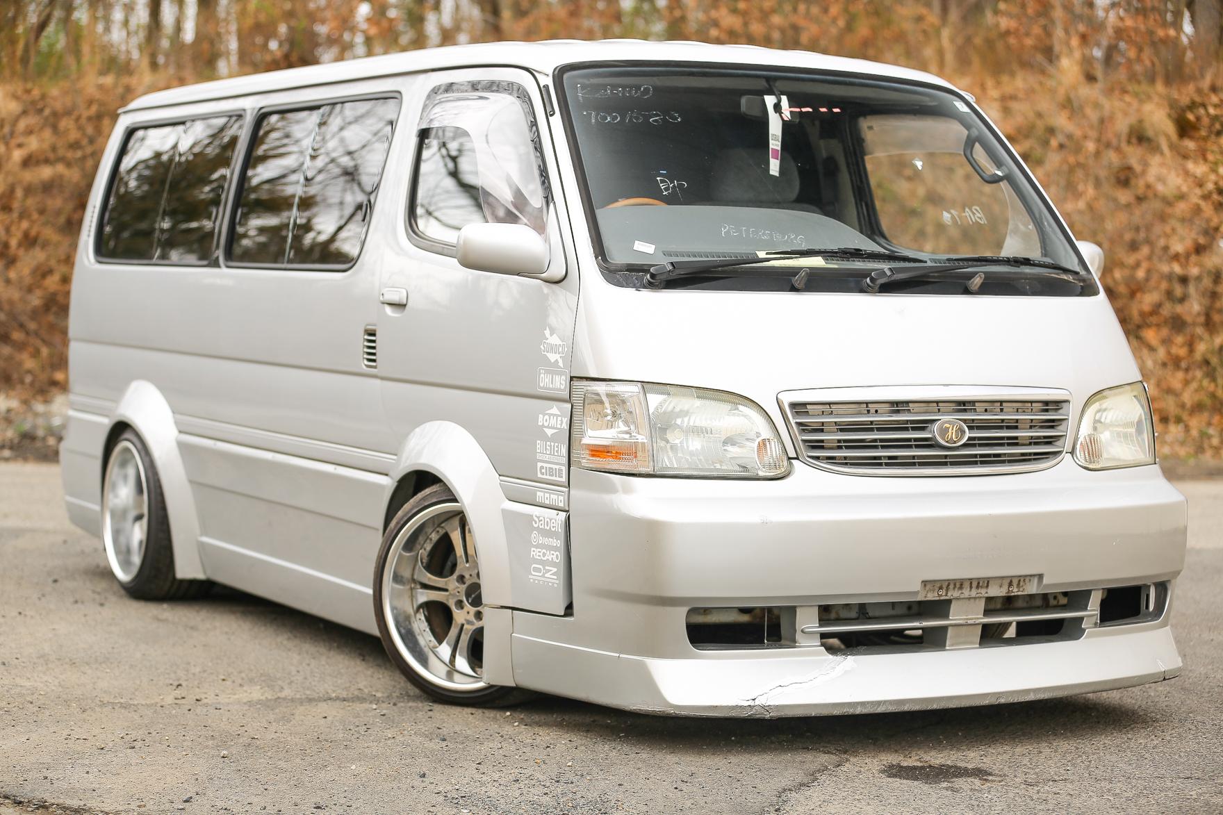 1996 Toyota Hiace Van - $15,500